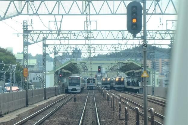 小田急複々線 全線走行シーン  GSE展望席から