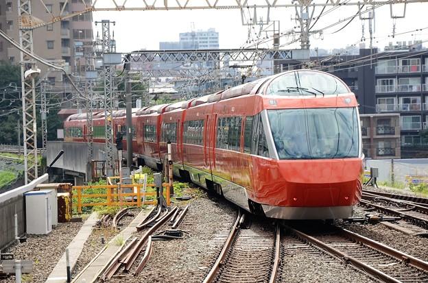 GSE特急はこね17号町田発車