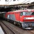Photos: EH500 11号機牽引トヨタ・ロングパス・エクスプレス小山11番発車