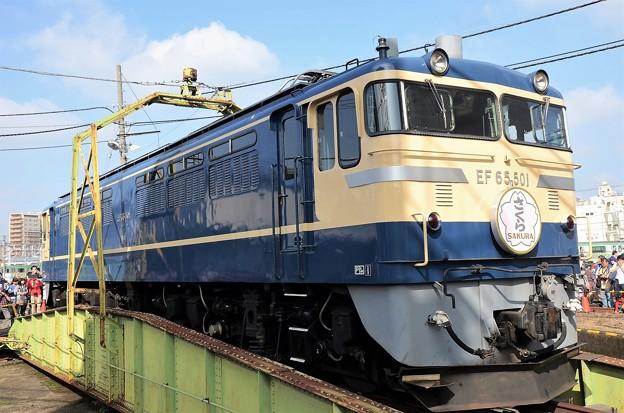 EF65 501「さくら」ヘッドマーク