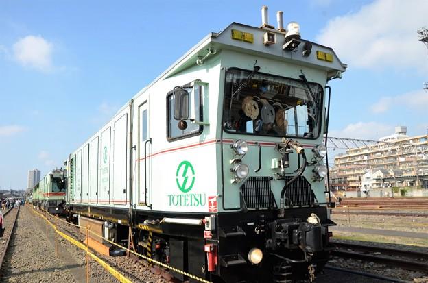 レール切削車(10頭式)