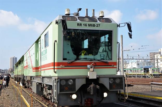 レール切削車(16頭式)