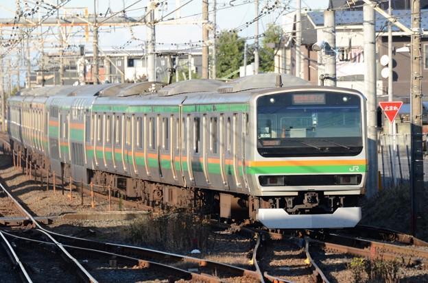 E231系横コツK-34編成湘南新宿ライン2545Y