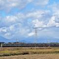 日光連山と東武宇都宮線20400型