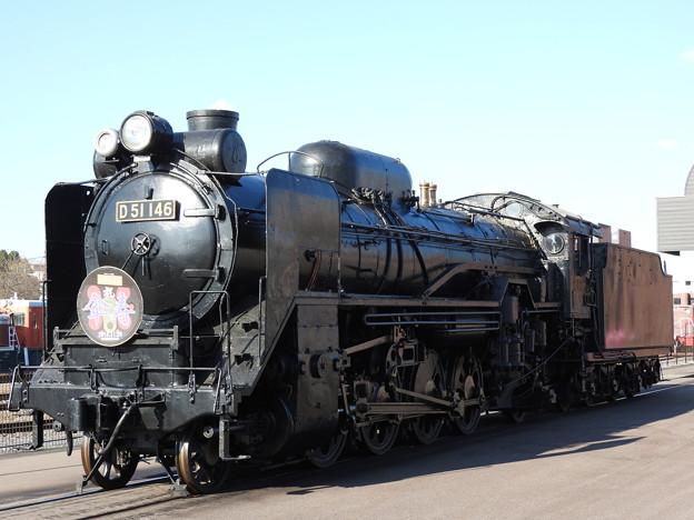 真岡鐡道SL D51 146号機 80歳記念HM付き