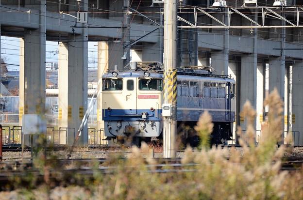 写真: EF65 2139原色機