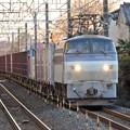 写真: EF66 106号機代走牽引4093レ石橋1番通過