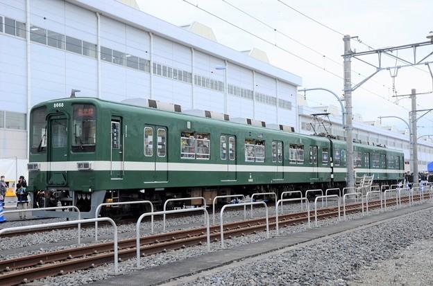 東武8000系8568F(昭和30年代試験塗装)
