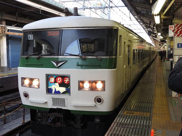 Photos: 185系A7編成特急踊り子幕