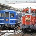 Photos: DE10 1099号機と14系の並び