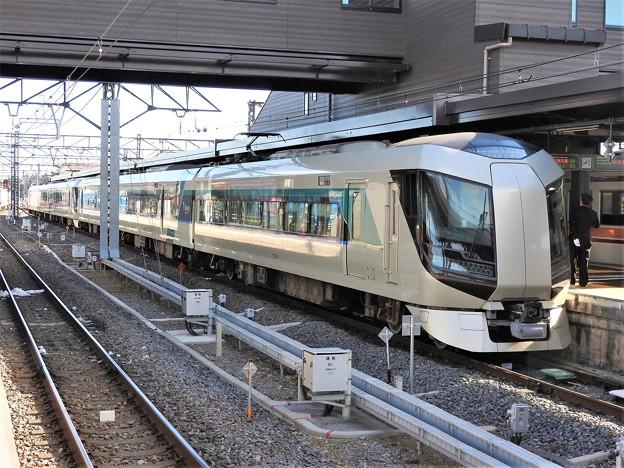 東武500系特急リバティ会津・けごん17号下今市2番到着