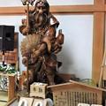 写真: 大天狗木像