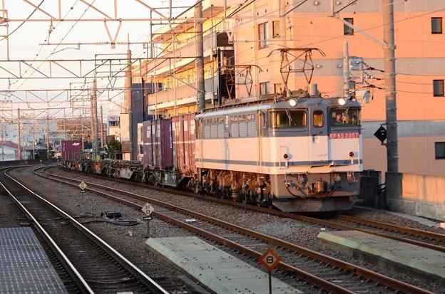 EF65 2057牽引高速貨物74レ