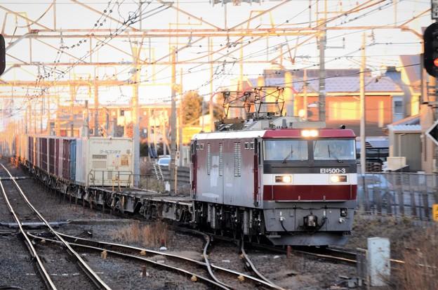 金太郎3号機牽引高速貨物3050レ