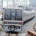 Photos: おおさか東線207系送り込み回送通過