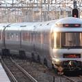 Photos: 平成最後のカシオペア紀行号夕陽の雀宮2番発車