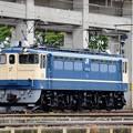 EF65 1105原色機宇都宮貨物(タ)構内入換え