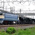 Photos: EF65 1105+ホキ4両宇都宮貨物(タ)構内入換え