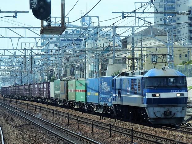桃太郎白帯108号機牽引コンテナ貨物