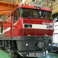 Photos: 全検塗装済みのEH500-22車体
