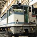 Photos: 全検塗装を待つEF65 2089車体 貨物更新色も見納め?