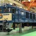 国鉄色塗装済みEF64 1037車体