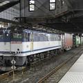 Photos: EF65 2060牽引4073レ小山11番停車