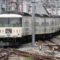 Photos: 185系A7編成踊り子107号送込み回送東京9番入線