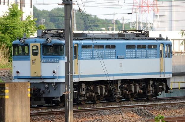 Photos: EF65 2127号機カラシ