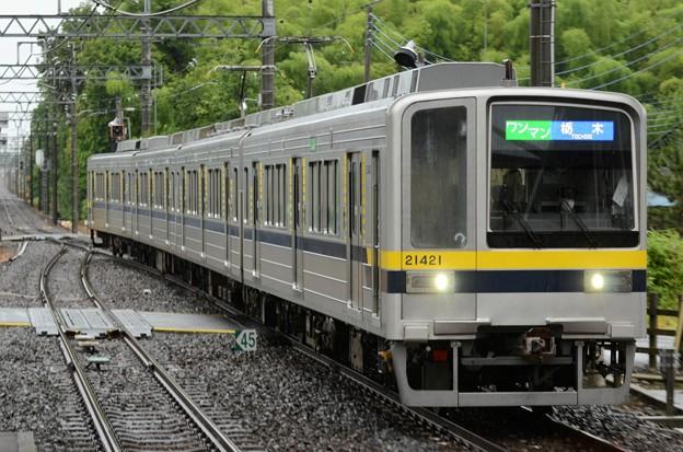 東武宇都宮線20400型栃木行き