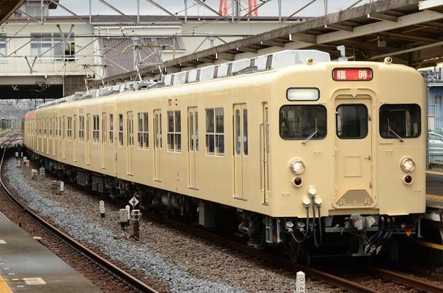 東武セイジクリーム色8111F団臨東武動物公園3番発車