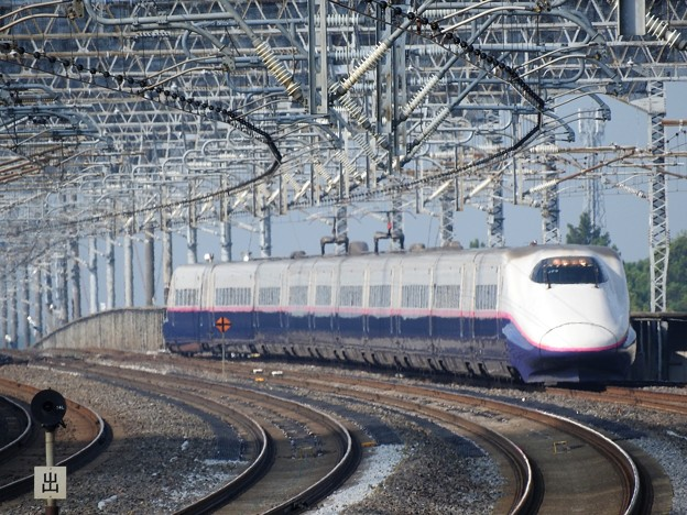 Photos: E2系やまびこ201号那須塩原2番接近
