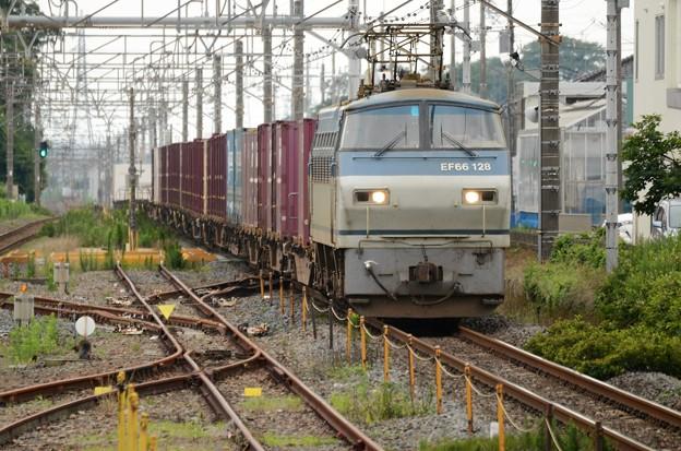 Photos: EF66 128号機牽引4093レ間々田1番通過