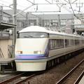 Photos: 特急スペーシアきぬがわ6号栗橋JR・東武連絡線運転停車