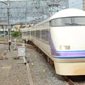 Photos: 東武100系特急けごん76号栗橋通過