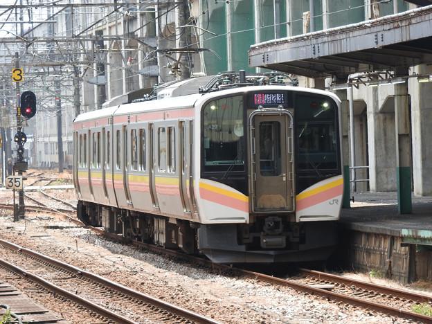E129系1331M長岡3番入線