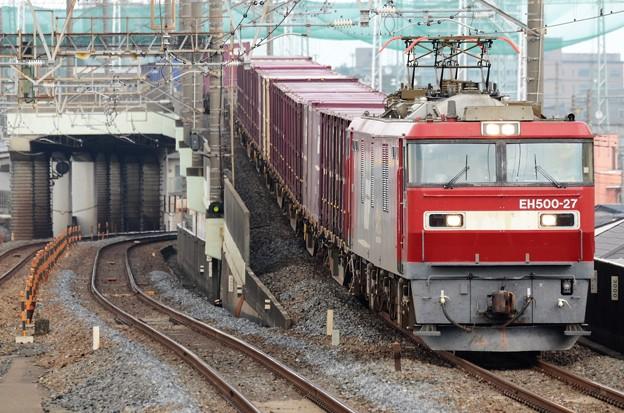 金太郎27号機牽引94レ武蔵野線西浦和通過