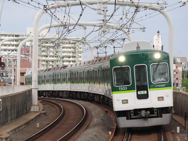 京阪1000系回送寝屋川市通過