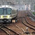 Photos: 221系快速西明石行き尼崎4番入線