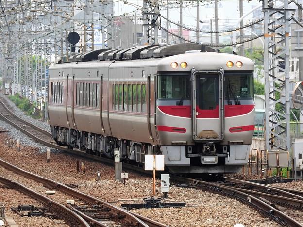 キハ189系特急はまかぜ1号尼崎1番通過