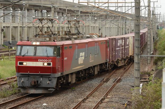 金太郎37号機牽引臨貨8094レ宇都宮貨物(タ)入線