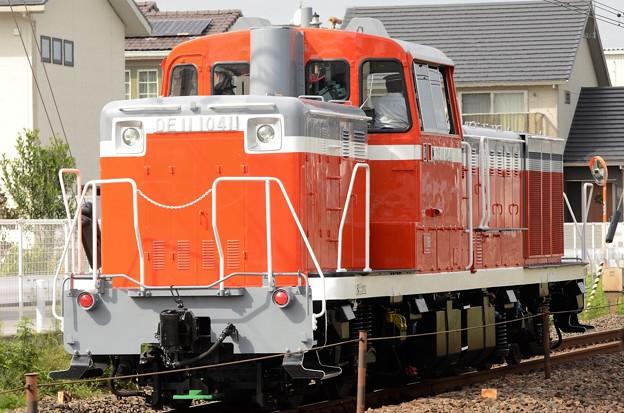 ピカピカのDE11 1041号機
