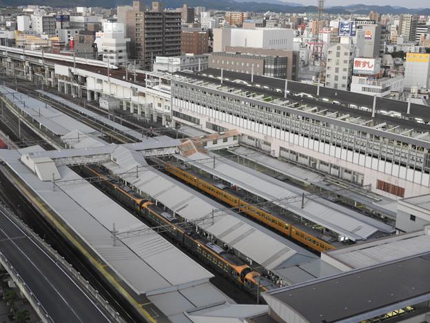 夕刻の岡山駅