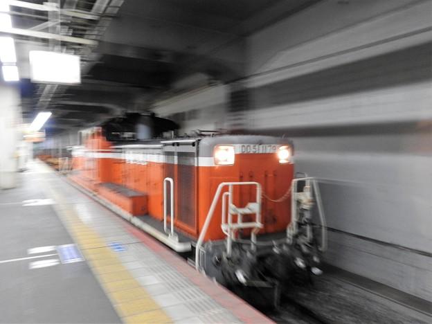 DD51 1179号+チキ工臨岡山1番通過
