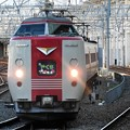 Photos: 381系特急やくも1号岡山2番入線