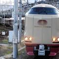285系サンライズ瀬戸・出雲号岡山8番入線