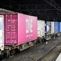 Photos: ピンクのONEコンテナも積載4073レ