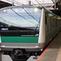 E233系7000番台回送大宮7番入線