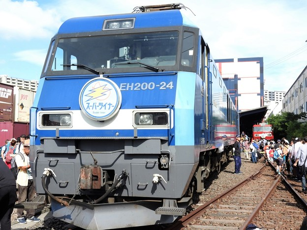 EH200-24スーパーライナーHM付き
