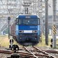 Photos: EH200-18号機牽引89レ発車待機中